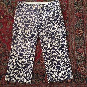 Lilly Pulitzer Palm Beach fit corduroy capris